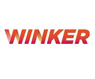 Winker ëîãîòèï (öâåòíîé ãðàäèåíò îòòåíêè æåëòîãî)