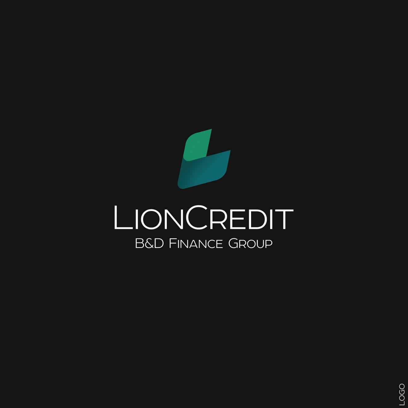 LOGO_LionCredit black
